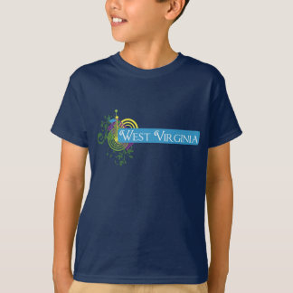 Abstract West Virginia T-Shirt