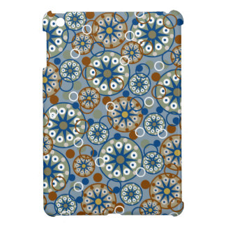 Abstract Wheels and Circles Pattern Cover For The iPad Mini