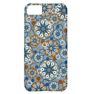 Abstract Wheels and Circles Pattern iPhone 5C Case