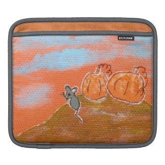 Abstract Whimsical Mouse Art Painting iPad Sleeve