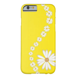 Abstract White Daisies on Yellow iPhone 6 case