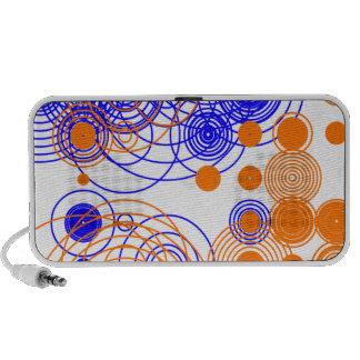 Abstract wild pattern mini speaker