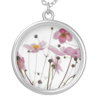 Abstract Wildflowers Necklace