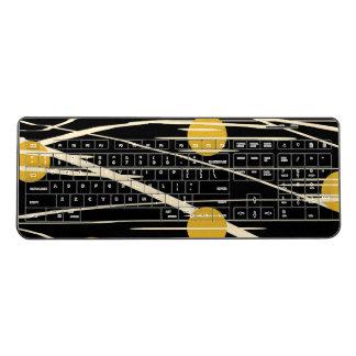 abstract wireless keyboard