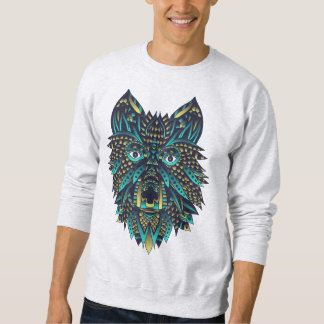 Abstract Wolf Sweatshirt