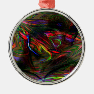 Abstract Woman Two Christmas Ornament