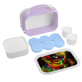 Abstract Women Lunch Box