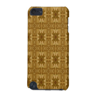 Abstract wood cross pattern iPod touch (5th generation) cases