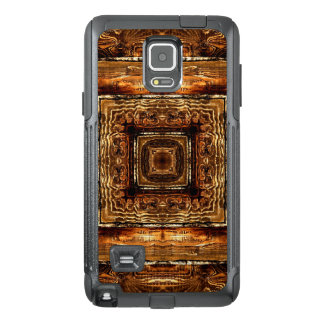 Abstract Wood Grain Texture OtterBox Samsung Note 4 Case