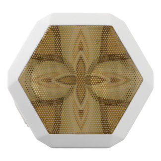 Abstract Wood Pattern White Boombot Rex Bluetooth Speaker