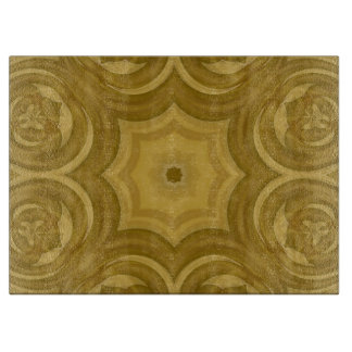 Abstract Wood Pattern Cutting Board
