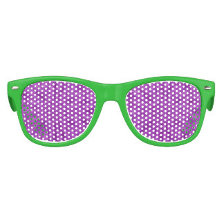 Abstract wood pattern purple color kids sunglasses