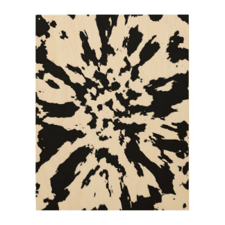abstract wood wall decor