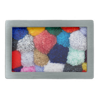 abstract wool background belt buckle