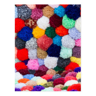abstract wool background postcard