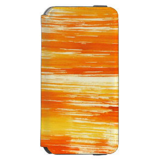 Abstract yellow background from watercolor incipio watson™ iPhone 6 wallet case