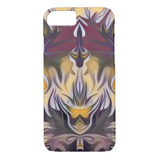 Abstract Yellow FIre iPhone 8/7 Case