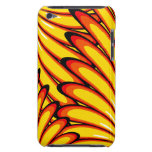 abstract yellow sunflowers iPod Touch Case-Mate
