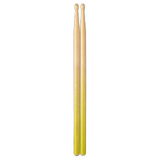 Abstract yellow&white drumsticks