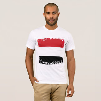 Abstract Yemen Flag Collection T-Shirt