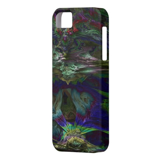 Abstract yourself iPhone 5 cases