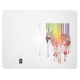 abstract zebra Pocket Journal