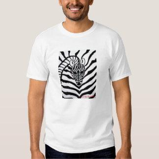 Abstract Zebra Tee Shirt