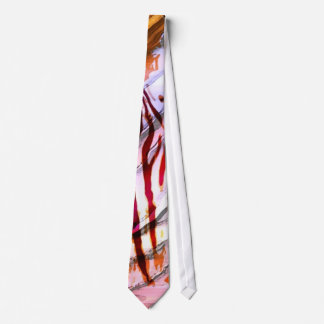 Abstract  Zebra Tie