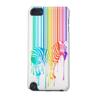 Abstract Zebra With Barcode iPod Touch 5G Cases