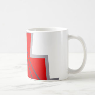 Abstract Zig Zag Art Coffee Mug
