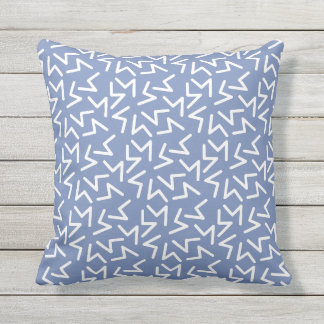 Abstract Zig Zag Pattern Pillow