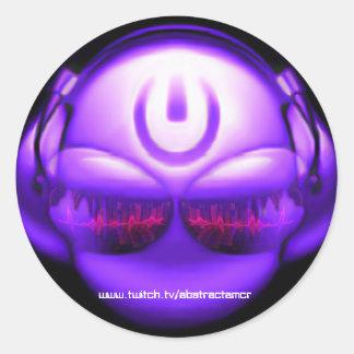 Abstractamcr Logo Classic Round Sticker