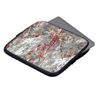 Abstracted Angel Laptop Sleeve