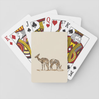Abstracted Kudus Playing Cards