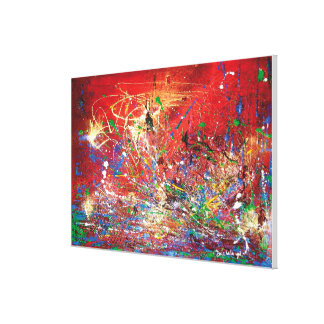 Abstracted Mars Canvas Print