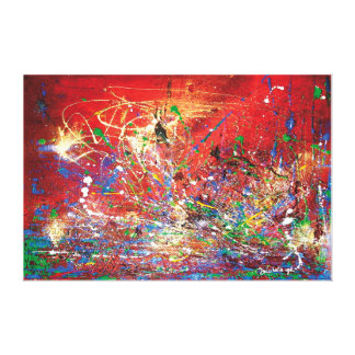 Abstracted Mars Canvas Prints