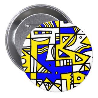 ABSTRACTHORIZ (592).jpg 7.5 Cm Round Badge