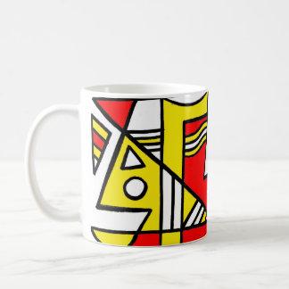 ABSTRACTHORIZ (592).jpg Basic White Mug
