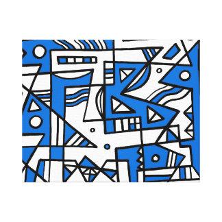 ABSTRACTHORIZ (592).jpg Stretched Canvas Print