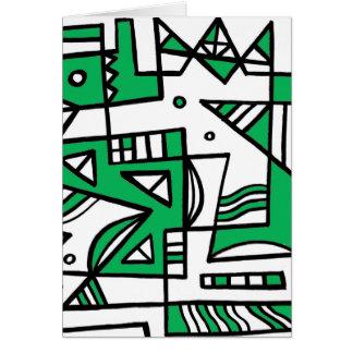 ABSTRACTHORIZ (592).jpg Greeting Card