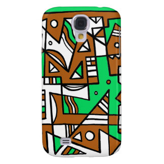 ABSTRACTHORIZ (592).jpg Galaxy S4 Case