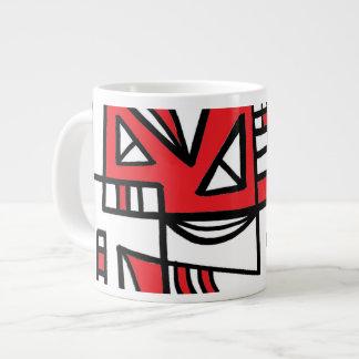 ABSTRACTHORIZ (592).jpg Jumbo Mug