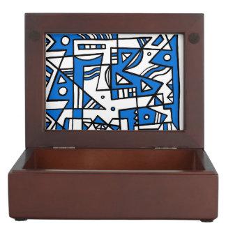 ABSTRACTHORIZ (592).jpg Keepsake Boxes