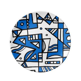 ABSTRACTHORIZ (592).jpg Porcelain Plate