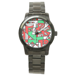 ABSTRACTHORIZ (592).jpg Wrist Watch