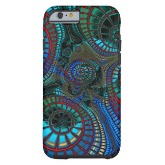 Abstracting Fractal Wave Tough iPhone 6 Case
