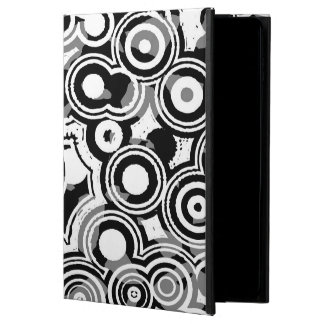 Abstraction Art Black And White Circles Powis iPad Air 2 Case