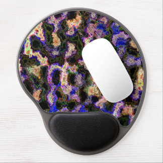 Abstraction Art Blue Background Gel Mouse Mat