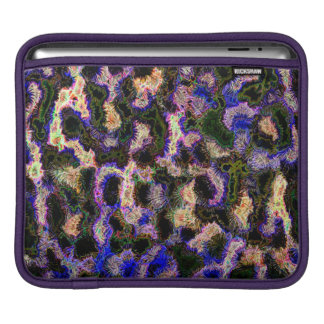 Abstraction Art Blue Background iPad Sleeve