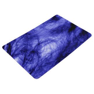 Abstraction Art Blue Haze Floor Mat